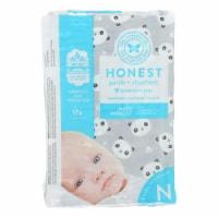 The Honest Company - Diapers Size 0 Newborn - Pandas - 32 Count - 1