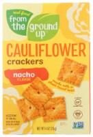 From The Ground Up Nacho Flavor Cauliflower Crackers