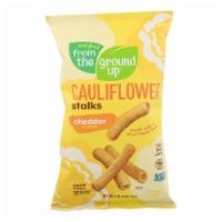 From The Ground Up Cauliflower Stalks - Cheddar - 12 ct / 4 oz