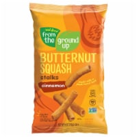 Real Food From The Ground Up Butternut Squash Stalks Cinnamon, 4. oz (Pack of 12) - 12
