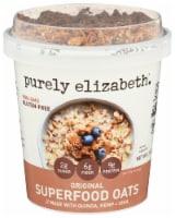 Purely Elizabeth Gluten Free Original Superfoods Oats - 12 ct / 2 oz