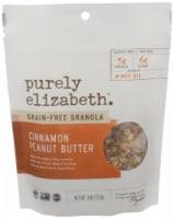Purely Elizabeth Grain Free Cinnamon Peanut Butter Granola 6 Count
