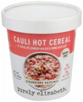 Purely Elizabeth Strawberry Hazelnut Cauli Hot Cereal Cup (12 Pack)