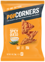 Popcorners Spicy Queso Chips, 1 Ounce -- 40 per case. - 5