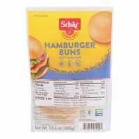 Schar Hamburger Buns - Case of 6 - 10.6 oz. - Case of 6 - 10.6 OZ each