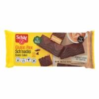 Schar Sch'Nacks Chocolate Covered Snack Cakes - Case of 6 - 12.3 oz.