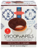 Daelmans StroopWafels Chocolate-Caramel Jumbo Box 10.23 OZ  (Pack of 8)