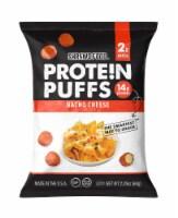 Shrewd Food Protein Puffs Nacho Cheese, 2.25 oz (Pack of 12) - 12