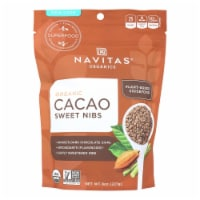 Navitas Naturals - Cacao Nibs Organic Sweetened - 8 OZ - Case of 6 - 8 OZ each