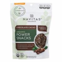 Navitas Organics Chocolate Cacao Power Snacks - 12 ct / 8 oz