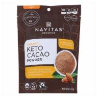 Navitas Organics - Cacao PowderKeto - Case of 6-8 OZ