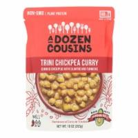 A Dozen Cousins - Ready to Eat Beans - Trini Chickpea Curry - Case of 6 - 10 oz. - Case of 6 - 10 OZ each