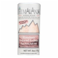 Natierra Himalania Fine Pink Salt Mix Reduced Sodium  - Case of 6 - 6 OZ - Case of 6 - 6 OZ each