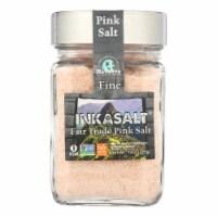 Natierra Inkasalt Fine Pink Salt  - Case of 6 - 10 OZ - Case of 6 - 10 OZ each