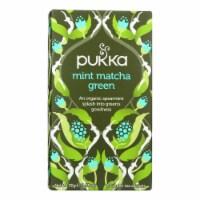 Pukka Herbal Teas - Tea Mint Matcha Green B - Case of 6 - 20 CT - Case of 6 - 20 CT each