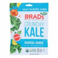 Brad's Plant Based - Crunchy Kale - Radical Ranch - Case of 12 - 2 oz. - 2 OZ