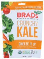 Brad's Plant Based Crunchy Kale Cheeze it up Organic & Gluten Free, 2.oz (Pack of 12) - 12