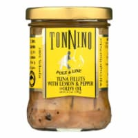 Tonnino Tuna - Tuna W/lemon And Pepper - Case of 6 - 6.7 OZ - Case of 6 - 6.7 OZ each