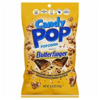 Snack Pop Butterfinger Candy Pop PopCorn, 5.25oz (Pack of 12) - 12