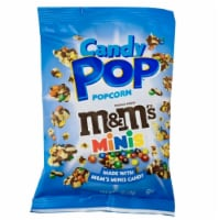 Snack Pop M&M's Minis Candy Pop PopCorn, 5.25oz (Pack of 12) - 12