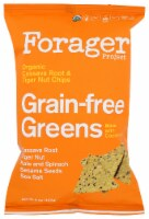 Forager Project Organic  Grain-free Greens Vegetable Chips,  5oz (Pack of 8) - 8