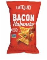 Late July Bacon Haberno Clasico Tortilla Chips, 2 Ounce -- 6 per case.