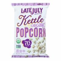 Late July Snacks Organic Popcorn - Case of 12 - 4.4 OZ - 4.4 OZ