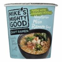 Mike's Mighty Good - Ramen Veg Miso Cup - Case of 6 - 1.6 OZ - Case of 6 - 1.6 OZ each