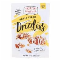 Creative Snacks - Drizzlers - Honey Pecan - Case of 6 - 10 oz.