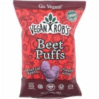 Vegan Rob's Beet Puffs Gluten Free , 3.5oz (Pack of 12) - 12