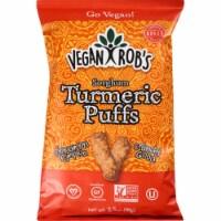 Vegan Rob's Sorghum Turmeric Puffs , 1.25 oz (Pack of 24) - 24