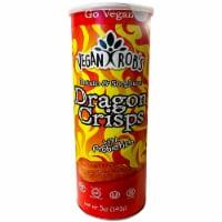 Vegan Rob's Dragon Crisps With Probiotics, 5oz (Pack of 12) - 12