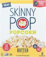 Skinny Pop Popcorn Butter Micro Bag, 16.8 oz (Pack of 6)