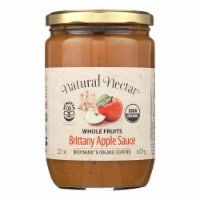 Natural Nectar Brittany Apple Sauce - Sauce - Case of 6 - 22.2 oz.
