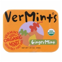 VerMints Breath Mints - All Natural - GingerMint - 1.41 oz - Case of 6 - Case of 6 - 1.41 OZ each