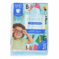 The Honest Company - Training Pants Abc 3t-4t - 1 Each - 23 CT