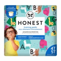 The Honest Company - Training Pants Abc 4t-5t - 1 Each - 19 CT