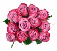 Passion Growers Dozen Fresh Cut Lavender Roses (Approximate Delivery is 1-3 Days)