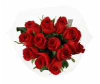 Dozen Red Rose Bunch (Approximate Delivery is 1-3 Days)