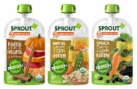Sprout Organic Plant Protein Variety Pack Stage 3 Baby Food