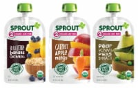 Sprout Rainbow Variety Pack Stage 2 Baby Food