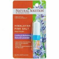 Natural Solution Nasal Inhaler, Natural Lavender Oil, Relief from Cold & Runny Nose | 0.07 oz