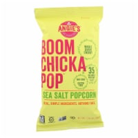 Angie's Kettle Corn Boomchickapop Sea Salt Popcorn - Case of 12 - 1.25 oz.