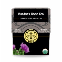 Buddha Teas - Organic Tea - Burdock Root - Case of 6 - 18 Count - Case of 6 - 18 BAG each