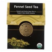 Buddha Teas - Organic Tea - Fennel Seed - Case of 6 - 18 Count - Case of 6 - 18 BAG each