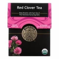 Buddha Teas - Organic Tea - Red Clover - Case of 6 - 18 Count - Case of 6 - 18 BAG each
