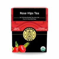Buddha Teas - Organic Tea - Rosehips - Case of 6 - 18 Count - Case of 6 - 18 BAG each