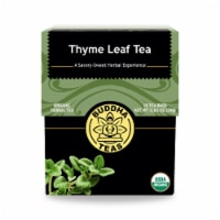 Buddha Teas - Organic Tea - Thyme Leaf - Case of 6 - 18 Count - Case of 6 - 18 CT each