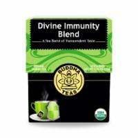 Buddha Teas - Organic Tea - Divine Immunity - Case of 6 - 18 Count - Case of 6 - 18 BAG each