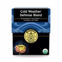 Buddha Teas - Organic Tea - Cold and Flu Karma - Case of 6 - 18 Count - Case of 6 - 18 BAG each